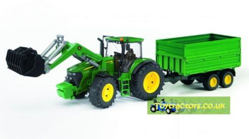 JOHN DEERE 7930 WITH LOADER & TRAILER
